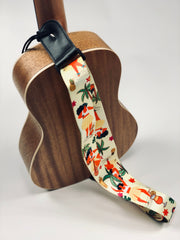 Sound Smith Hawaiian Ukulele Strap - SOUND SMITH  Ukulele Straps - Guitar Capo Ukulele Straps - uke straps - ukulele accessories