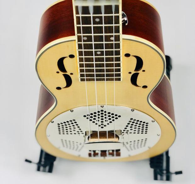 Resonator Ukulele - SSU-RM - SOUND SMITH  Ukulele - Guitar Capo Ukulele - Guitar picks