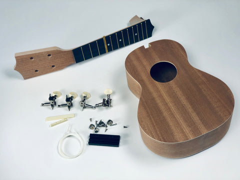 Sound Smith Do it Yourself (DIY) Ukulele Kit - SOUND SMITH   - ukulele concert and soprano