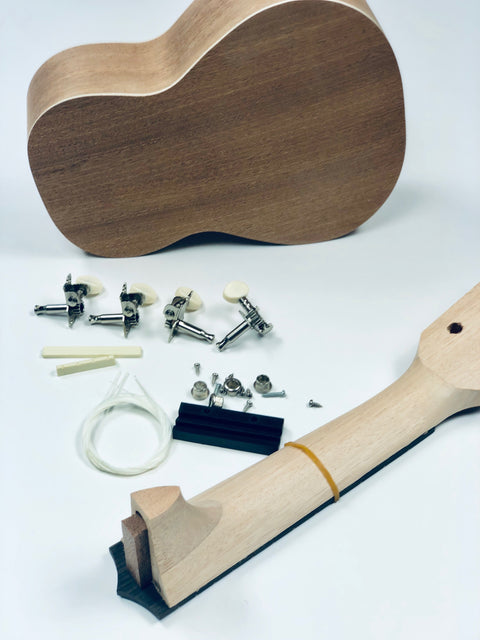 Do it Yourself (DIY) Ukulele Kit - SOUND SMITH   - Guitar Capo  - Guitar picks