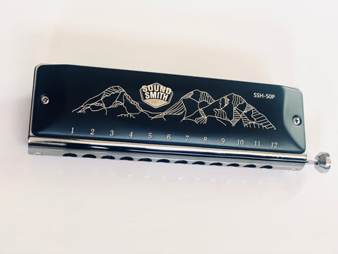 Sound Smith Chromatic Harmonica - SSH-50P