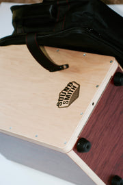 Sound Smith Collapsable Cajon with Backpack - SOUND SMITH  Cajon - Guitar Capo Cajon - Guitar picks