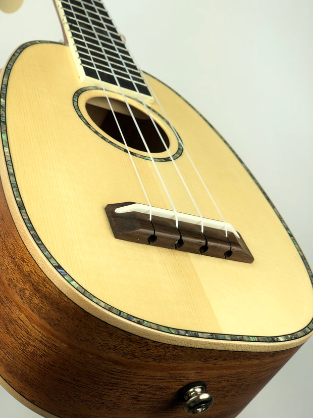 NEW! Sound Smith Pineapple Long Neck Soprano Ukulele SMLS