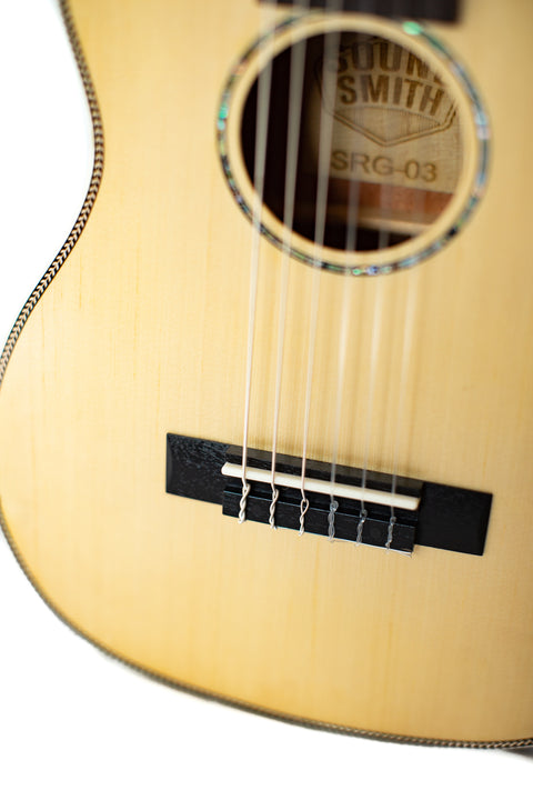 Sound Smith Guitalele (Baritone) - SSG-03 31-inch - SOUND SMITH  Guitar - Guitar Capo Guitar - Guitar picks