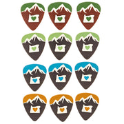 Sound Smith Medium Guitar Picks - 12 pick pack with case - SOUND SMITH  Guitar Picks - Guitar Capo Guitar Picks - Guitar picks