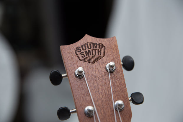 Sound Smith Sapele Ukulele - SMS/C - SOUND SMITH  Ukulele - Guitar Capo Ukulele - Guitar picks