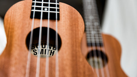 Sound Smith Sapele Ukulele - SMS/C/T - SOUND SMITH  Ukulele - Guitar Capo Ukulele - Guitar picks