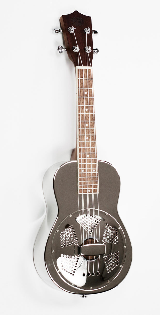 Sound Smith Brass Body Concert Resonator Ukulele - SSU-RB - SOUND SMITH  Ukulele - metal ukulele - resonator uke