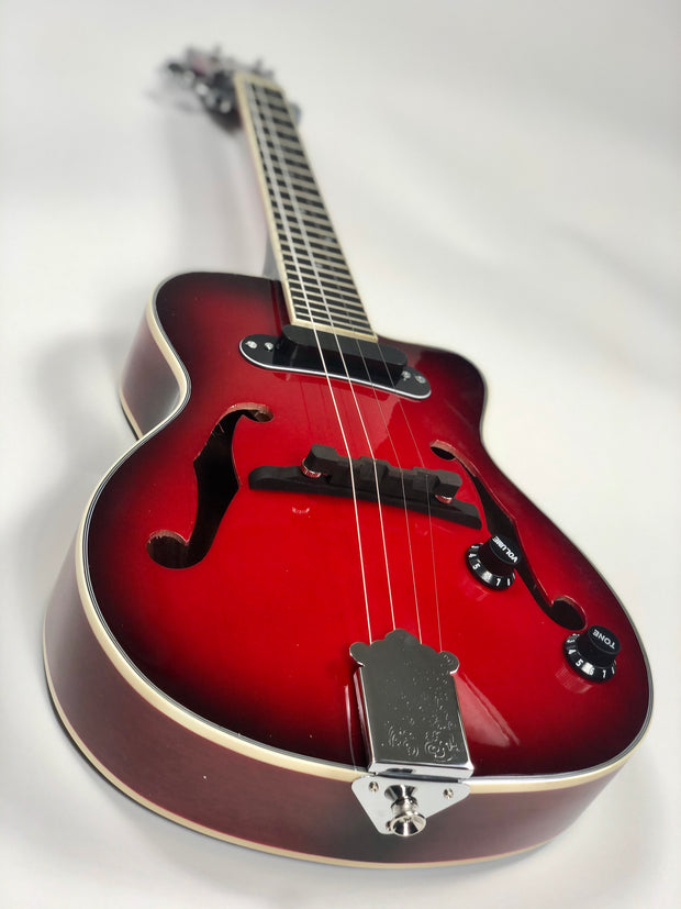 Sound Smith Electric Hollow Body Jazz Tenor Ukulele