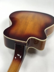 Sound Smith Electric Hollow Body Jazz Tenor Ukulele  - Antique Sunburst - SOUND SMITH  Ukulele - Guitar Capo Ukulele - Guitar picks