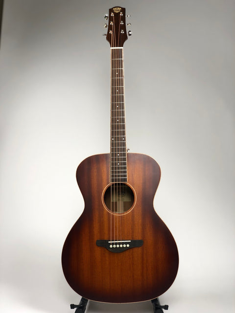 Solidbody Mahogany Acoustic-Electric Guitar M01-OM Memphis Sunrise