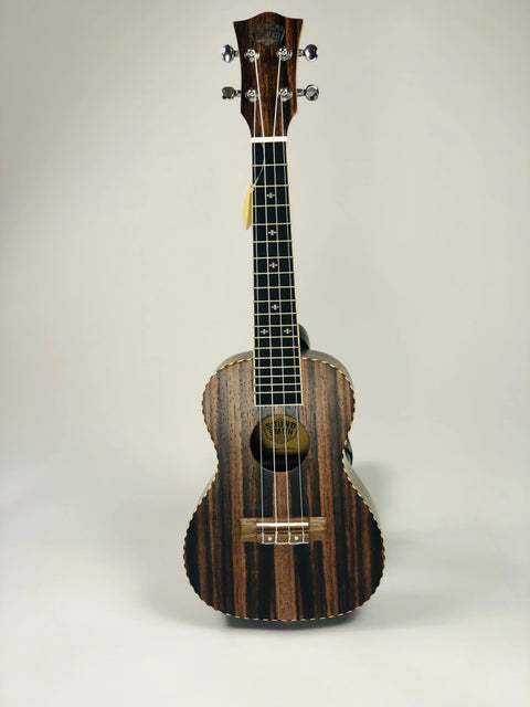 Sound Smith Ebony Ukulele - SOUND SMITH   - Ebony concert ukulele - tenor ebony ukulele - uke