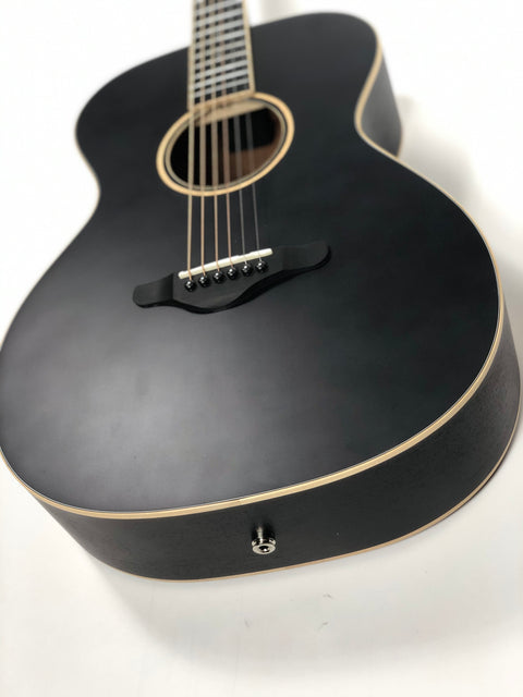 New! Sound Smith OM Acoustic-Electric Guitar - Memphis Black