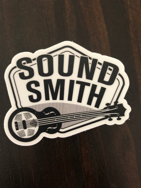 Sound Smith Stickers! - SOUND SMITH  stickers - Guitar Capo stickers - Guitar picks