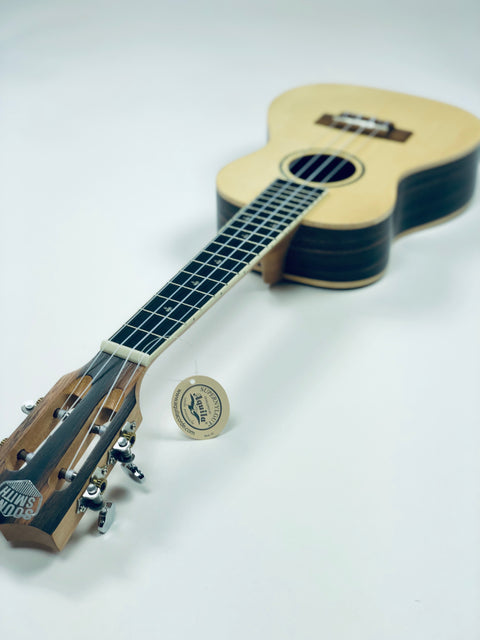 Sound Smith Spruce Ebony Concert SE-24 - SOUND SMITH   - Solid Spruce ebony concert ukulele - uke