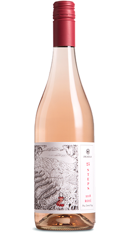 Akarua Central Otago '25 Steps' Pinot Rose 750ml
