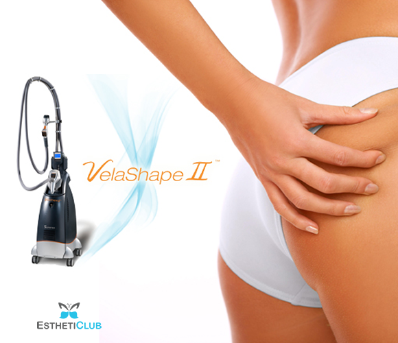 6 Velashape Cellulite Reduction Treatments (one area)