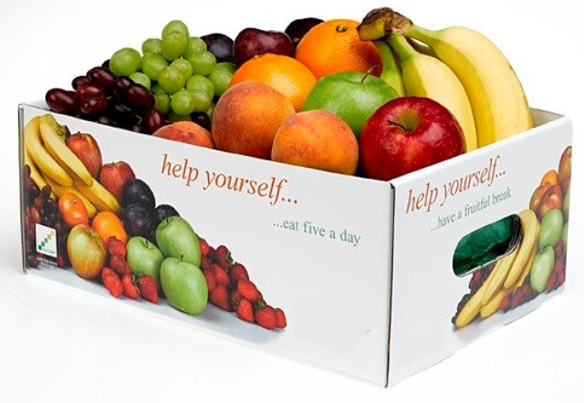 50pc SEASONAL  FRUIT BOX