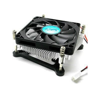 Super Thin 1U Slim HTPC Low Profile CPU Cooler 23mm Intel Socket H2 H3 1155 1150