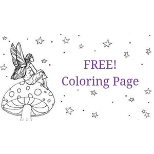 Fairy Finery Coloring Page