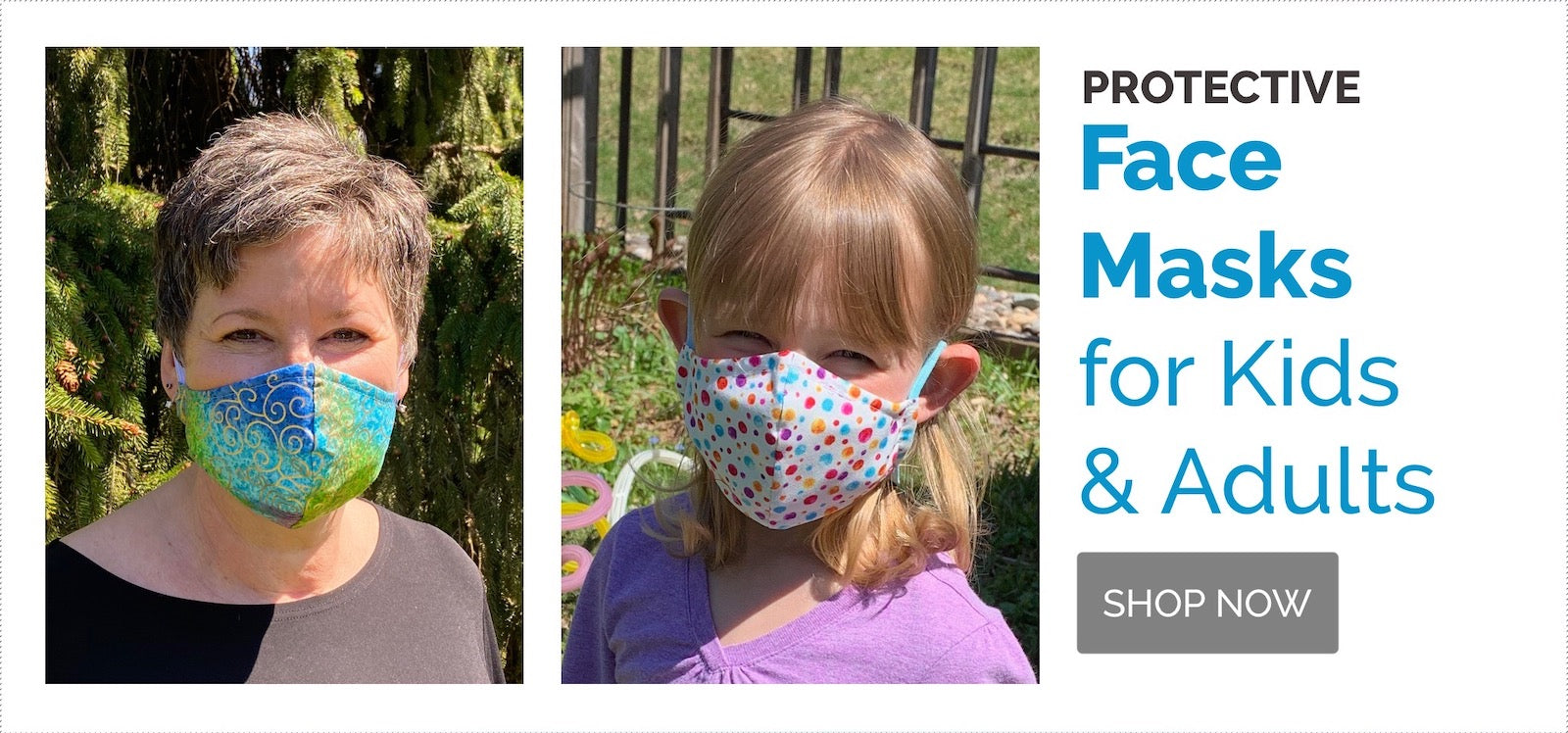 Protective Face Masks for Adults and Kids