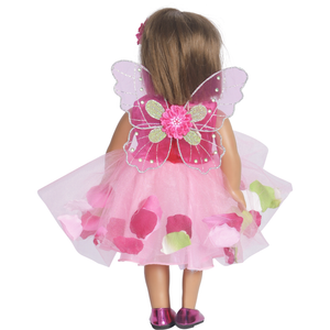Doll Flower Fairy Tulle Dress Set