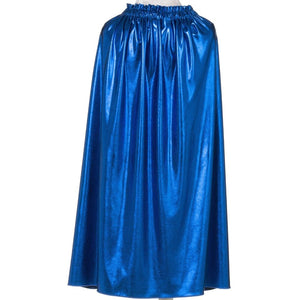kids royal blue costume cape
