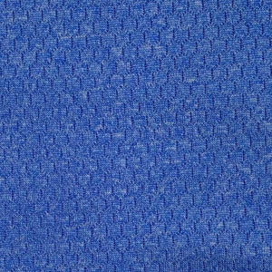 Blue Heather antimicrobial wicking jersey