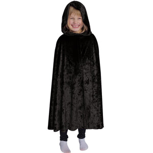 black velvet cape for kids