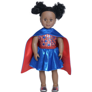 Doll Superhero Cape Set