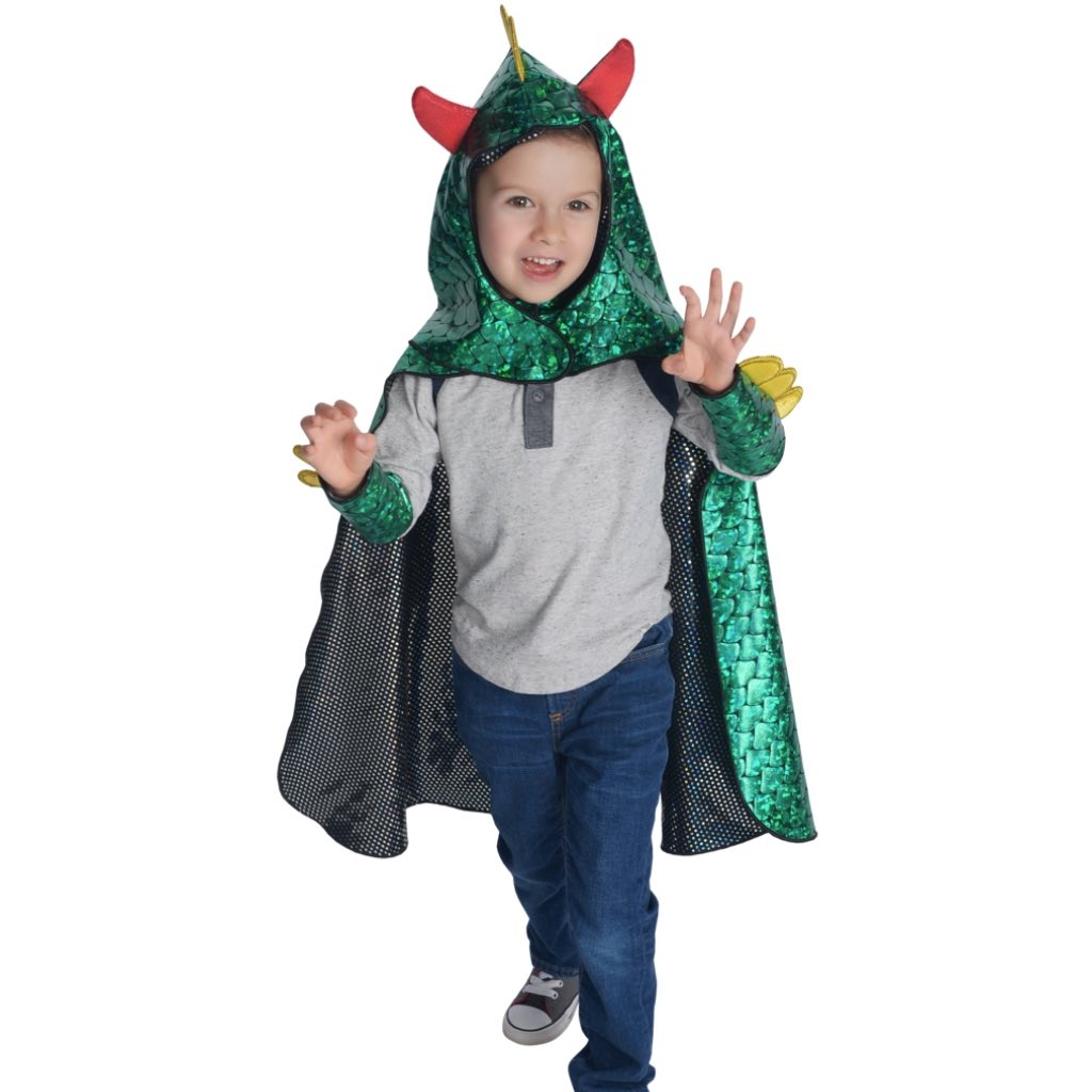 Dragon & Knight Reversible Cape Set