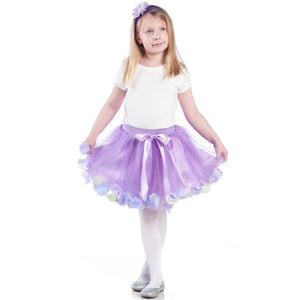 Fairy Flower Tulle Skirt - Lined