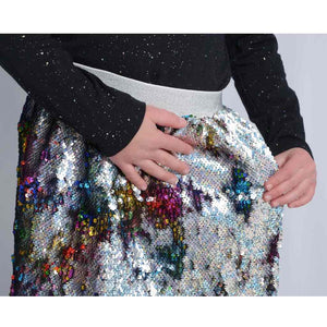 Flippy Sequin Skirt