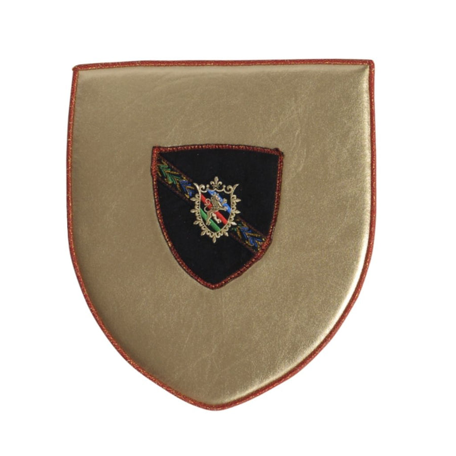 gold soft toy shield