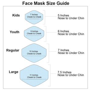 Protective Face Masks for Youth