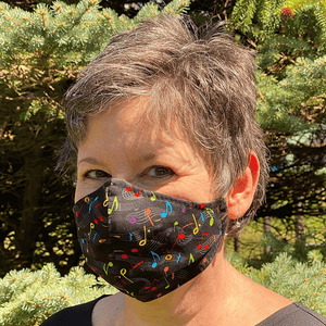 Protective Face Masks for Adults & Teens - Cotton Prints