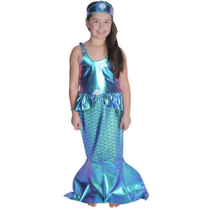 Shiny Mermaid Outfit with Tail