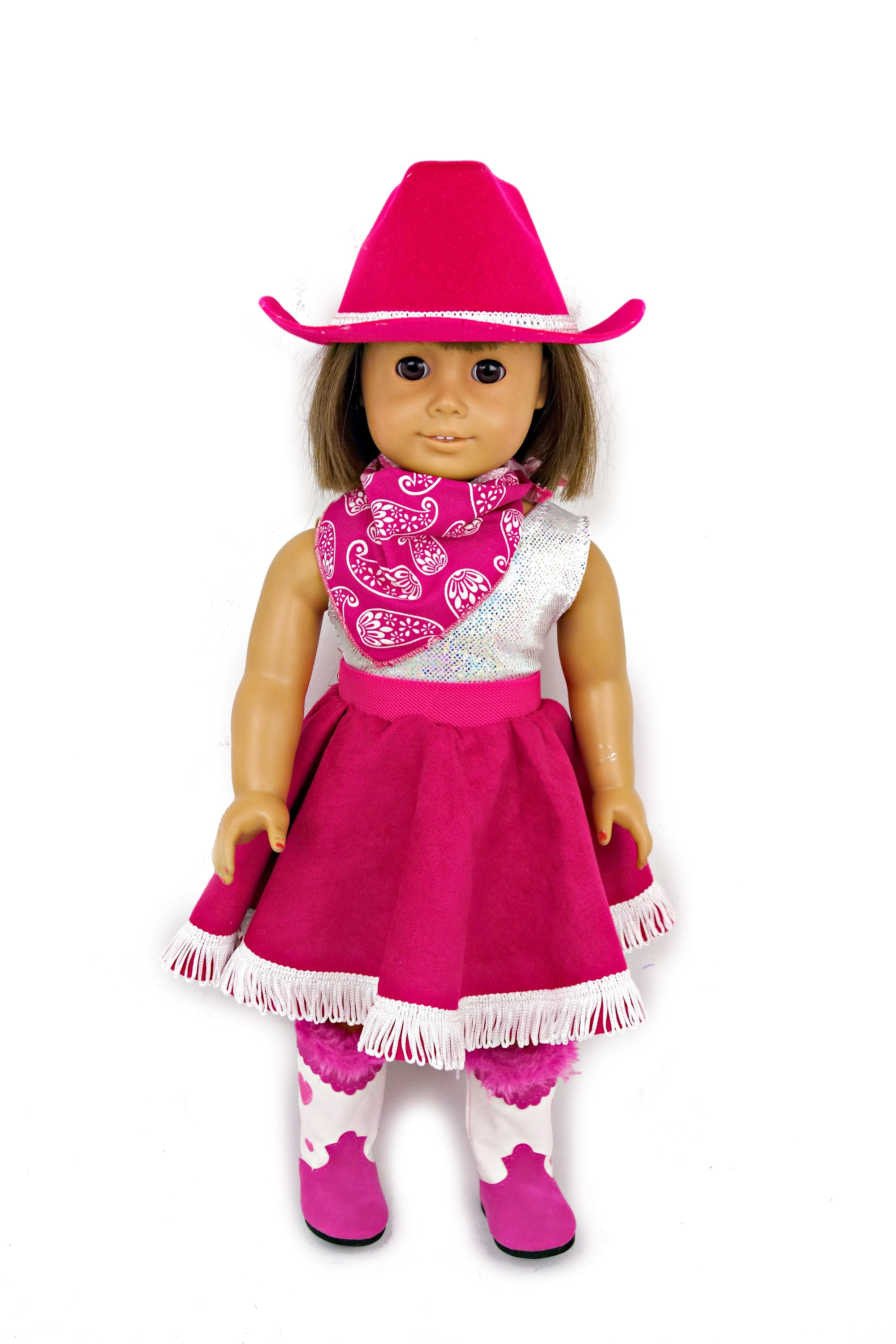 Western Cowgirl Doll Set