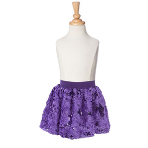 Sequin Posy Bubble Skirt