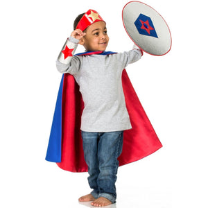 Superhero Cape in Reversible Satin