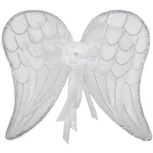 White angel fairy wings
