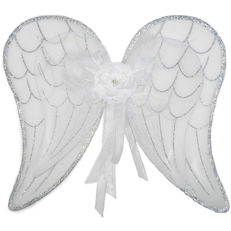 White angel fairy wings for girls
