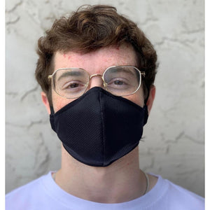 Protective Face Masks for Adults - Wicking Antimicrobial Fabric