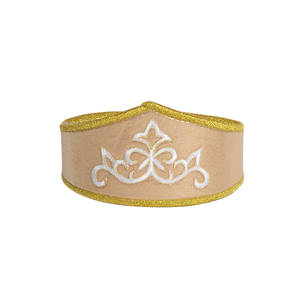 Kids's gold  regal adventure crown for play