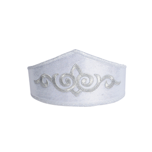 girl's silver regal adventure crown for play