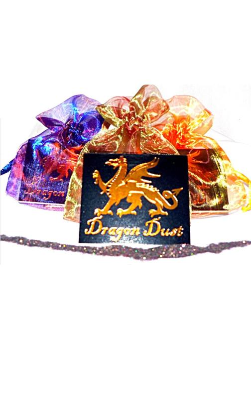 Fairy Finery dragon dust party favor assorted colors