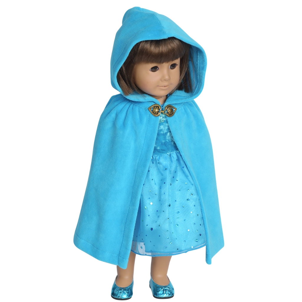 Storybook Velour Doll Cape