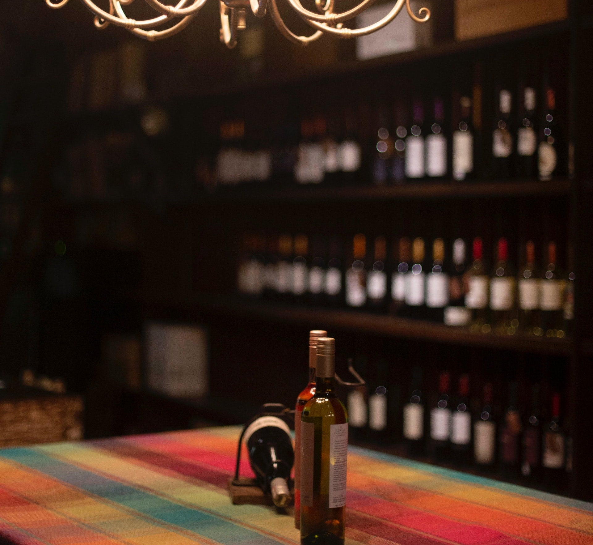 In-home wine cellar