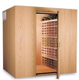 High Capacity Walk-In Wine Cooling Storage Room