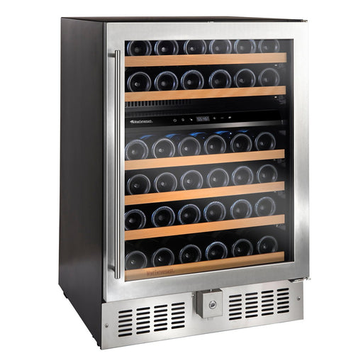 N'FINITY S Dual Zone Wine Cellar (Stainless Steel Door)